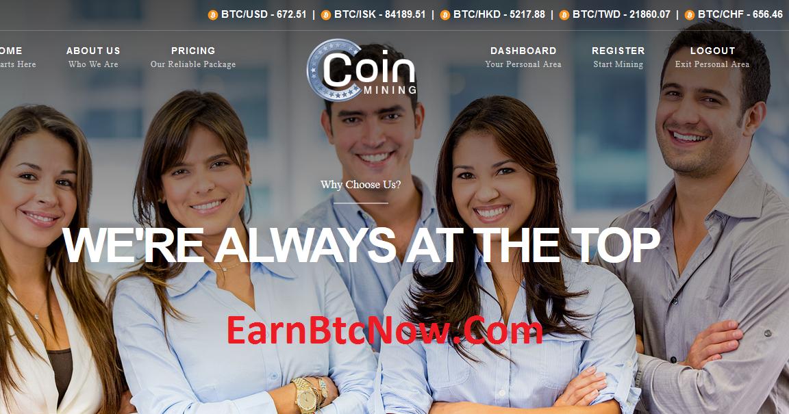 [HIYP] Mining Bitcoin (BTC) with Coinminingclub - ROI 385% Per Year