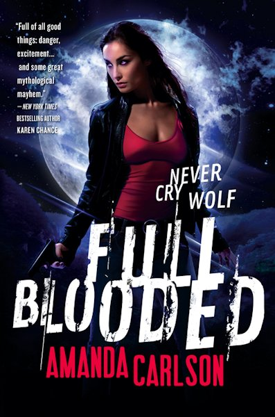 Early Review - Full Blooded by Amanda Carlson - 5 Qwills