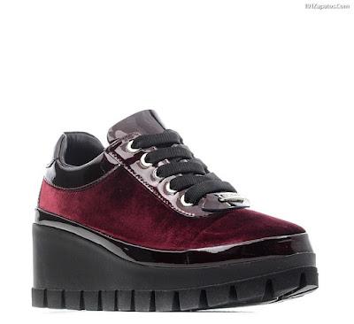zapatos de moda con plataforma