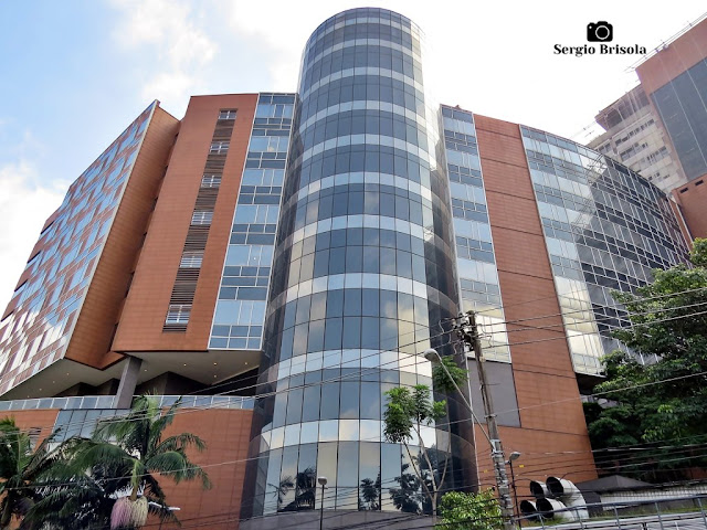Vista ampla do Hospital Israelita Albert Einstein - Morumbi - São Paulo