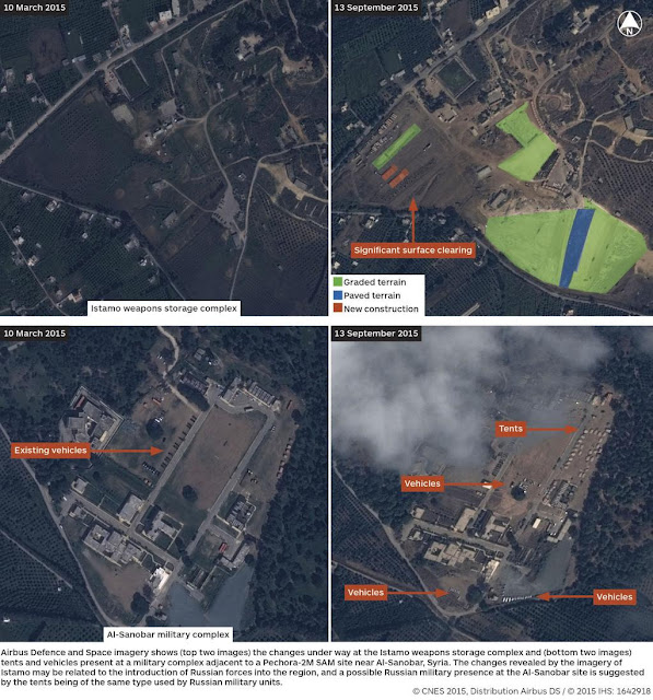 GEOINT | New Russian Bases at North West Syria : Satellite Reconnaissance