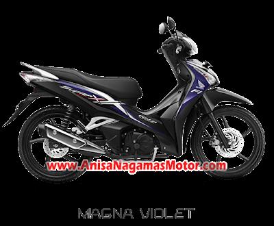 Supra X 125 Helm In Ungu 2018 Anisa Naga Mas Motor Klaten Dealer Asli Resmi Astra Honda Motor Klaten Boyolali Solo Jogja Wonogiri Sragen Karanganyar Magelang Jawa Tengah.