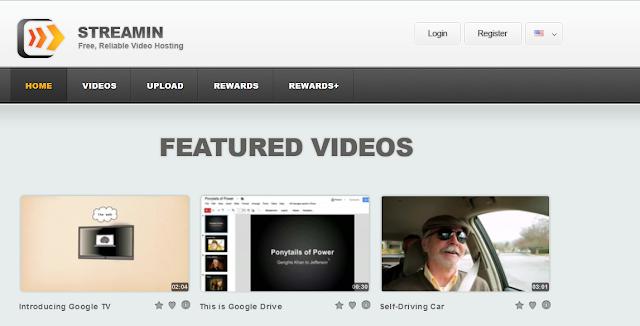 كيف تجني ارباح جيدة عن طريق رفع الفيديوهات الى موقع streamin ؟