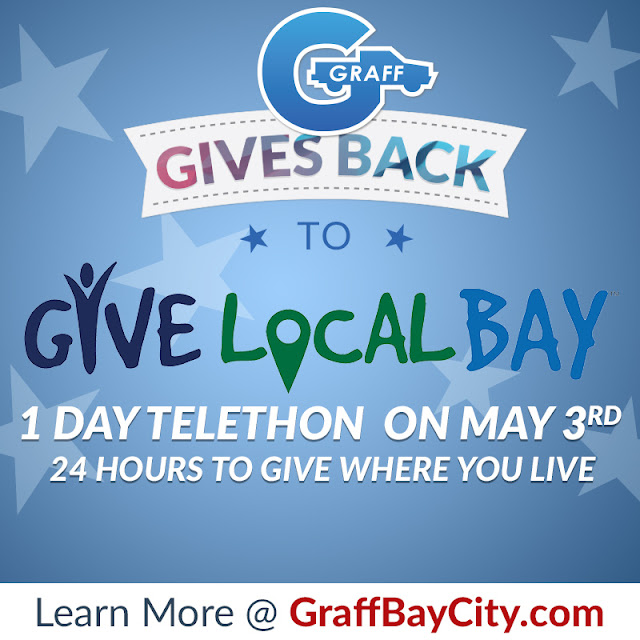 Graff Gives Back to Give Local Bay & Holds 1-Day Telethon