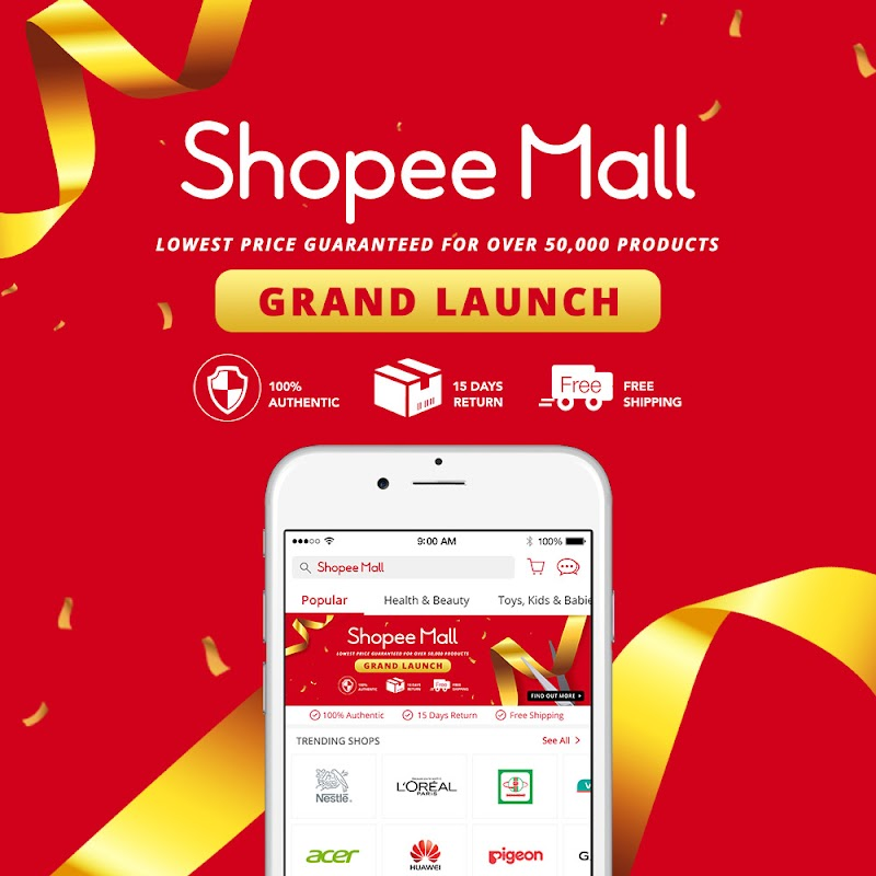 Shopee Cash Voucher up to RM900 could be yours