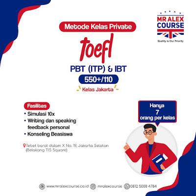 Kursus TOEFL di Jakarta