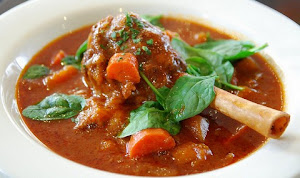 Curried Lamb Shank with Carrots
