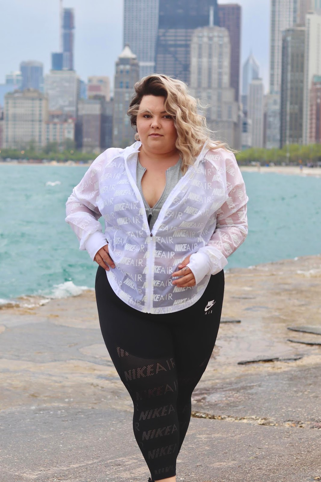 Chicago Plus Size Petite Fashion Blogger, YouTuber, and model Natalie Craig, of Natalie in the City, reviews Nike's plus size line.