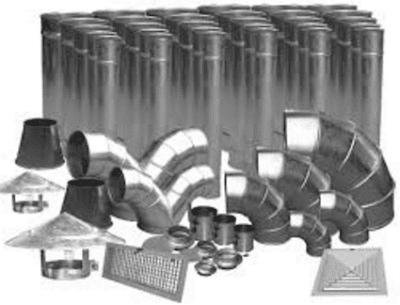 Cung cấp ống gió, phụ kiện ống gió tròn