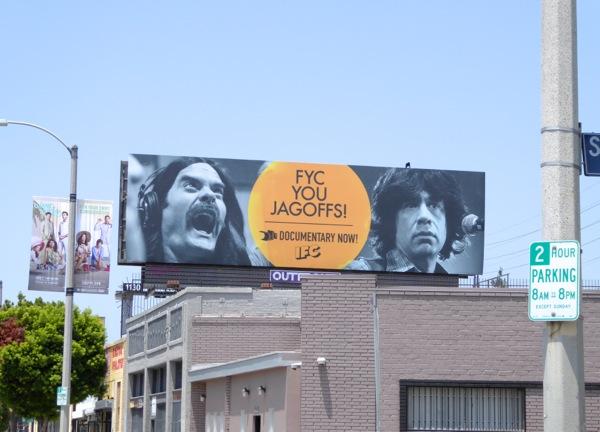 Documentary Now FYC you Jagoffs Emmy billboard