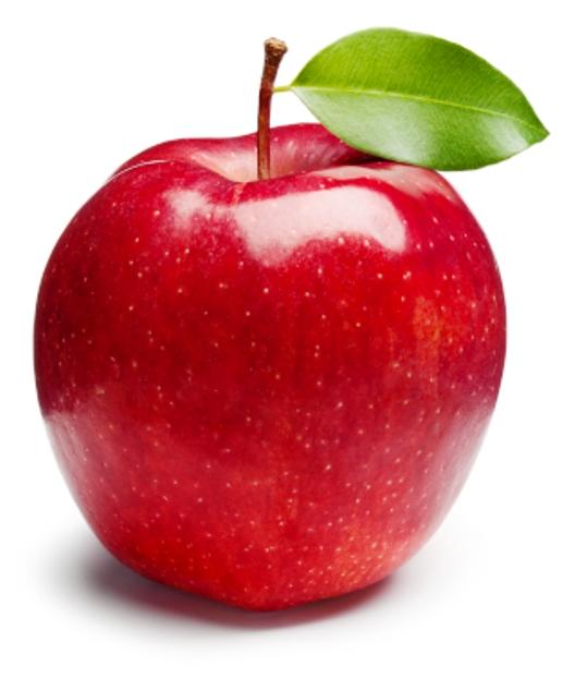 gambar buah apel animasi