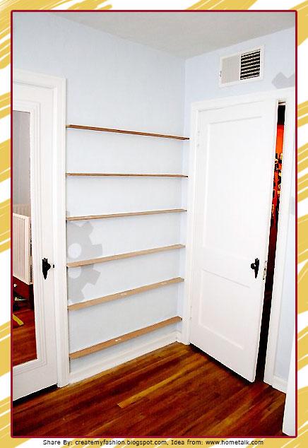 ไอเดียดีๆ ทำให้พื้นที่หลังประตูมีคุณค่าใช้ประโยชน์ได้อีก