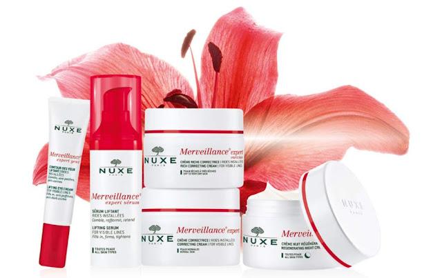 Gamme Merveillance Expert Nuxe - Blog beauté Les Mousquetettes