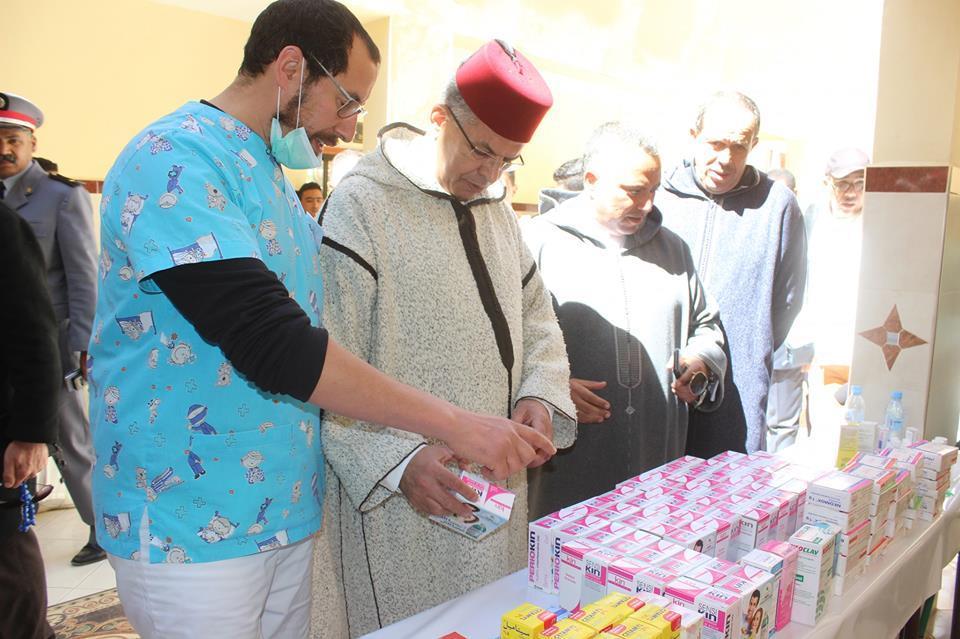 في عيد المرأة العالمي .. حملة طبية بمدرسة تامسولت للتعليم العتيق بإقليم تارودانت