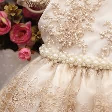 vestido bordado para daminha de honra