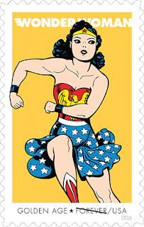 Sello Wonder Woman, Golden Age