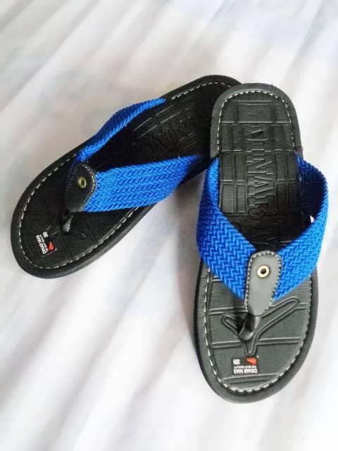 Sandal Spon Dinar MAs Tali biru