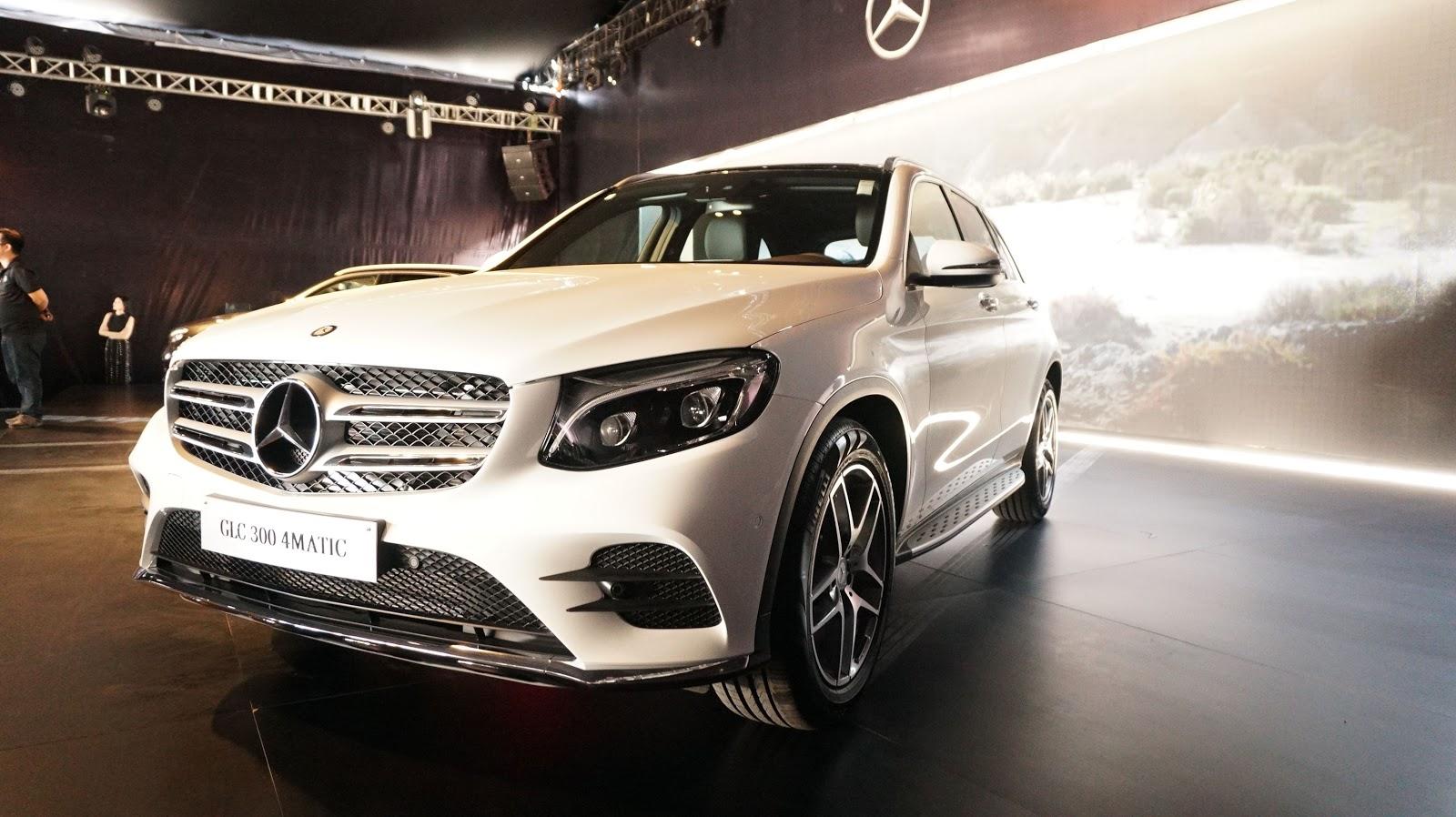 Hầm hố và mạnh mẽ với Mercedes Benz GLC 300 2016, nhiều tùy chọn, chế độ lái tuyệt vời