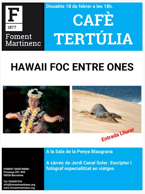 HAWAII al FOMENT MARTINENC