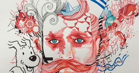 INSPIRATION ILLUSTRATOR - Magazine cover