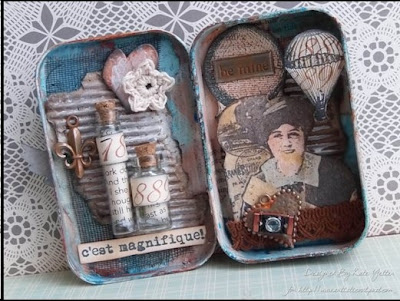 Altered Tin Designed by Kate Yetter