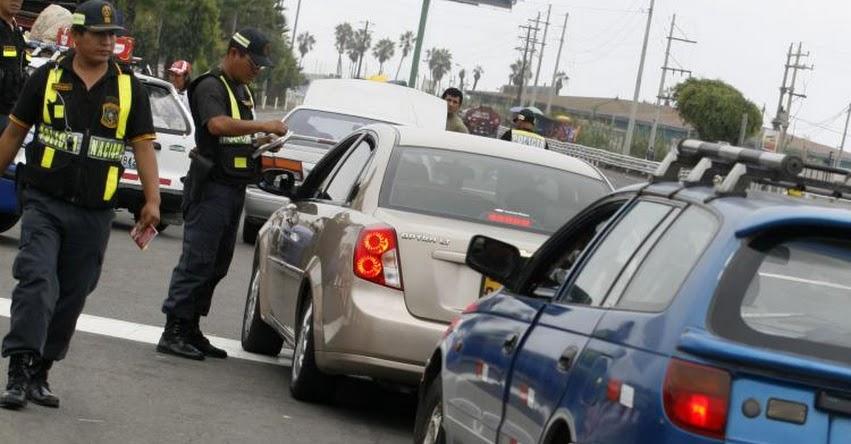 MTC: Ministerio de Transportes normará control de vehículos en viajes interprovinciales de familias