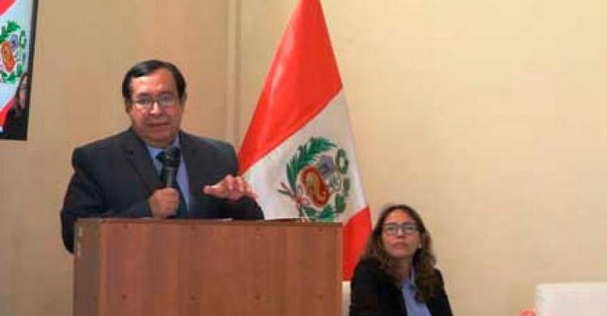Crearán el Registro Nacional de Procesados, informó el Presidente del Poder Judicial, Víctor Prado Saldarriaga
