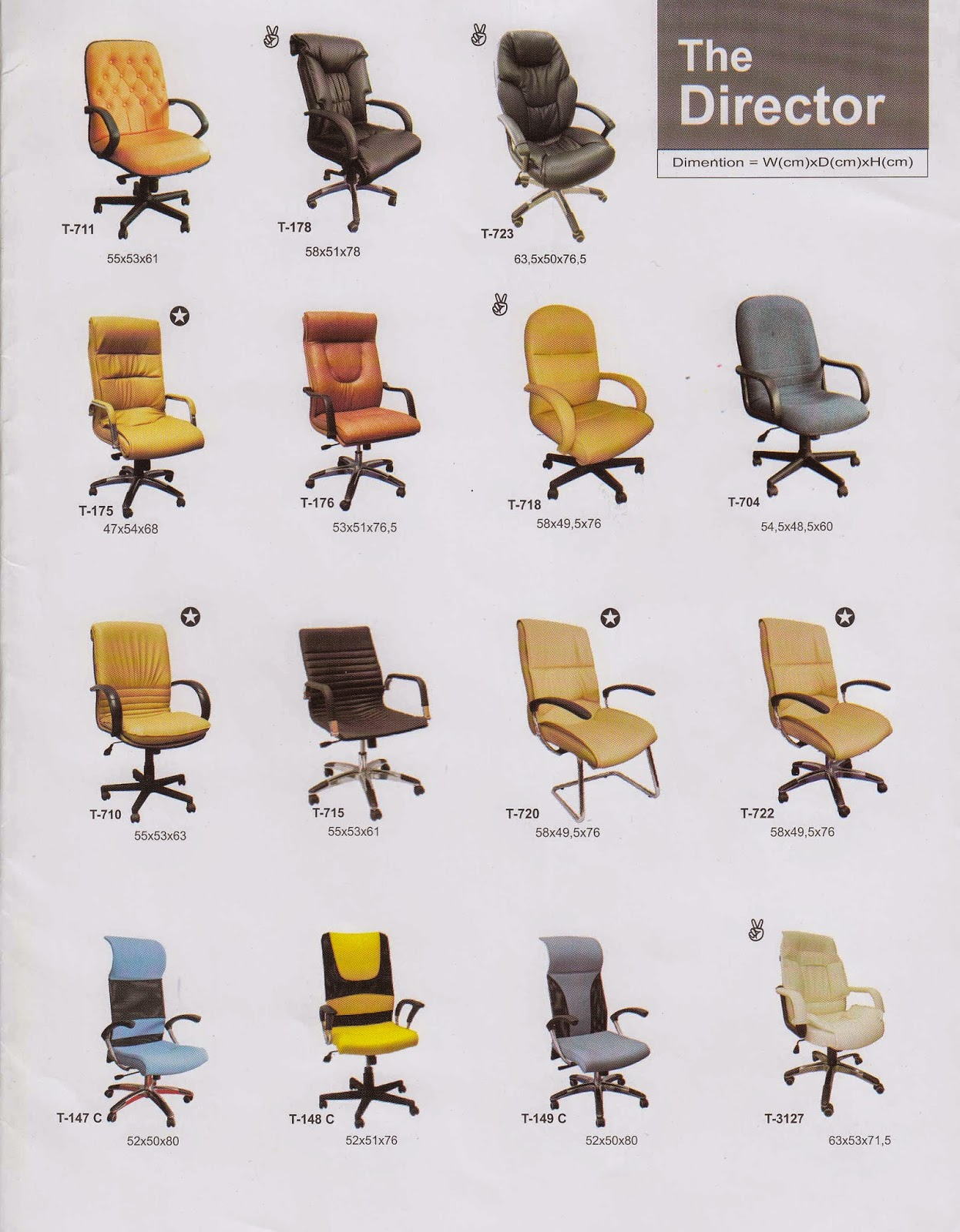 jual kursi kantor di bali jual kursi direktur di bali