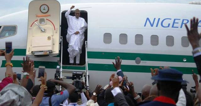 Buhari Arrives Benin City On Two-Day Working Visit