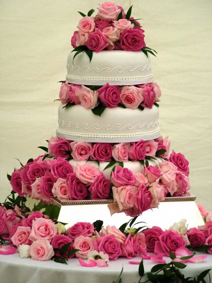 Beautiful Wedding Cakes 16 Fresh Beautiful wedding cakes are