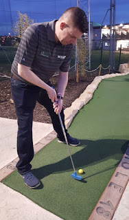Richard Gottfried, Dino Falls Masters Adventure Golf Masters Champion
