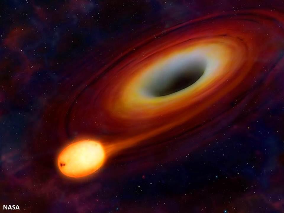 المستعرُ الأعظمُ الألمعُ في الكون ربَّما كانَ نجماً يمزقه ثقبٌ أسود !
