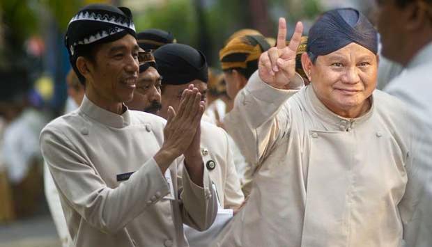 Silsilah Jokowi dan Prabowo
