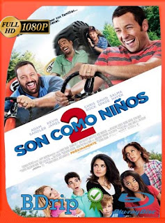Son Como Niños 2 (2013) Latino FULL HD BDRIP 1080P [GoogleDrive]
