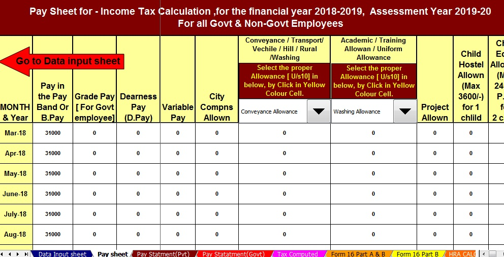 Transport Allowance Withdrawn From Fy 2018 19 Ay 2019 20 Cbdt