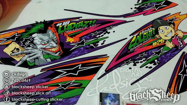 Kawasaki Ninja RR Joker street racing
