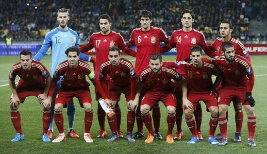 Tây Ban Nha bước vào Euro 2016