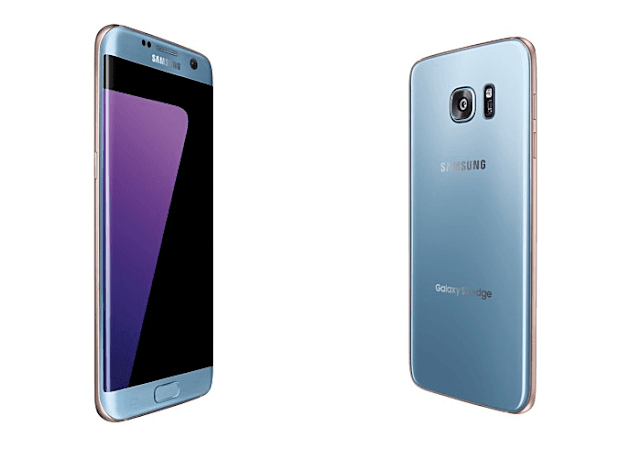 Samsung Galaxy S7 Edge Blue Coral New Color Announced