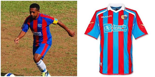 Sepakbola Papua : Belang Jersey Hingga Prestasi, persidafon dafonsoro, catania