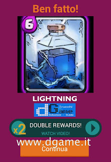 Soluzioni Quiz Clash Royale card livello 9