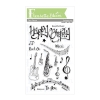FBS Beautiful Music 4x6 Clear Stamp Set