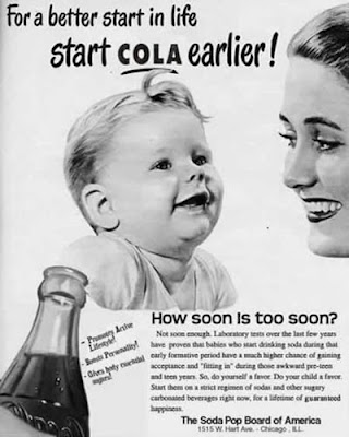 soda ad for babies