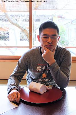 Jon Ngo Your Meal at Tokyo Shiba Tofuya Ukai in Tokyo, Japan