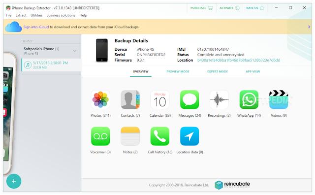 تحميل برنامج النسخ الاحتياطي للايفون iPhone Backup مجانا