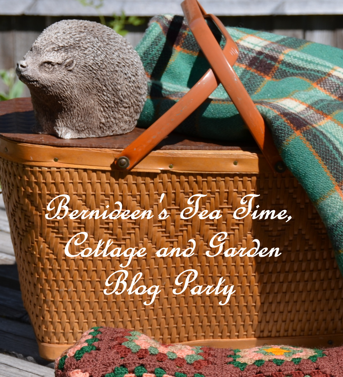 Bernideen's Tea Time  Cottage and Garden Blog Party