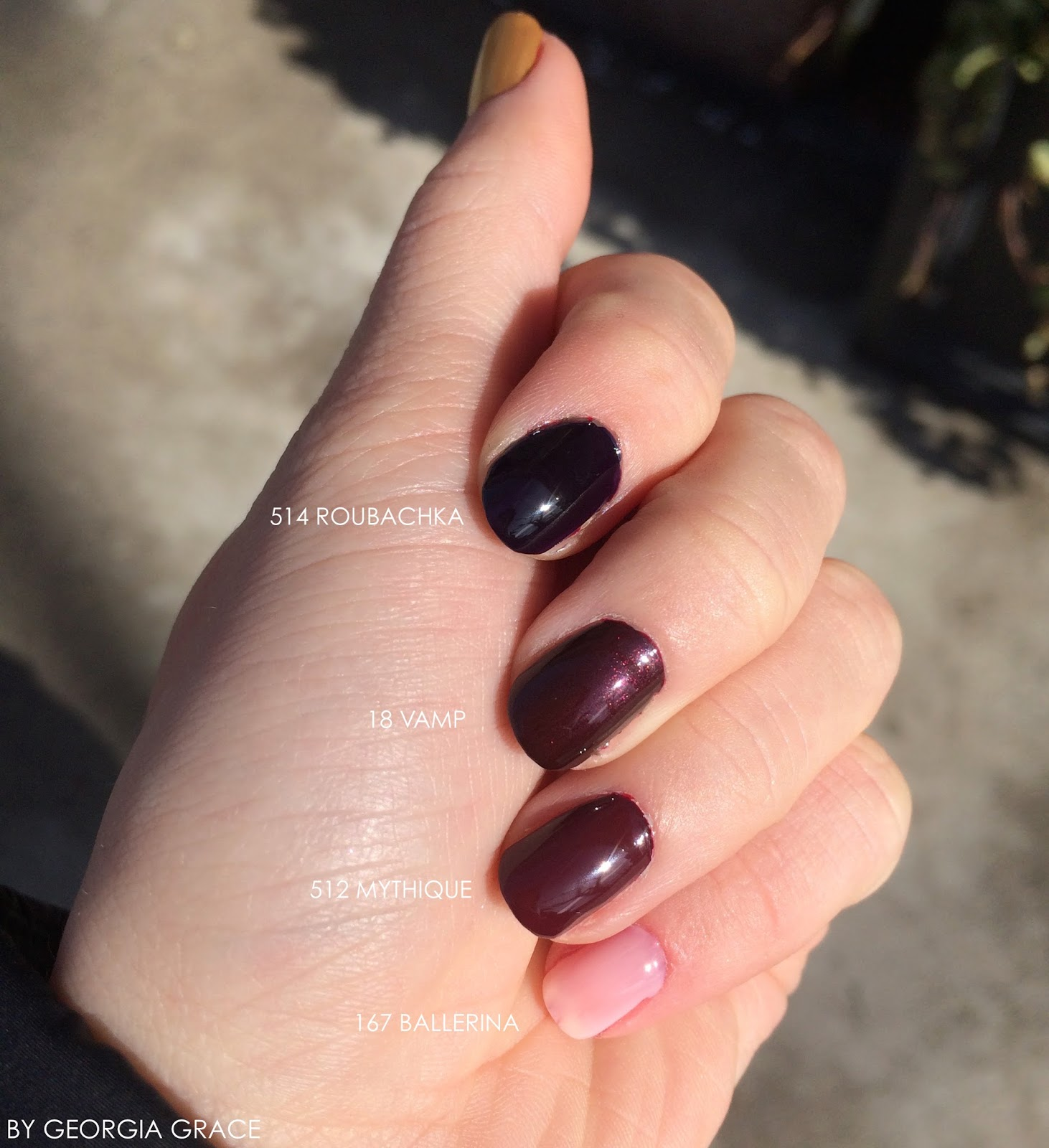 Bien connu Chanel NEW Le Vernis Longwear Collection Swatches & Review | By  BD83