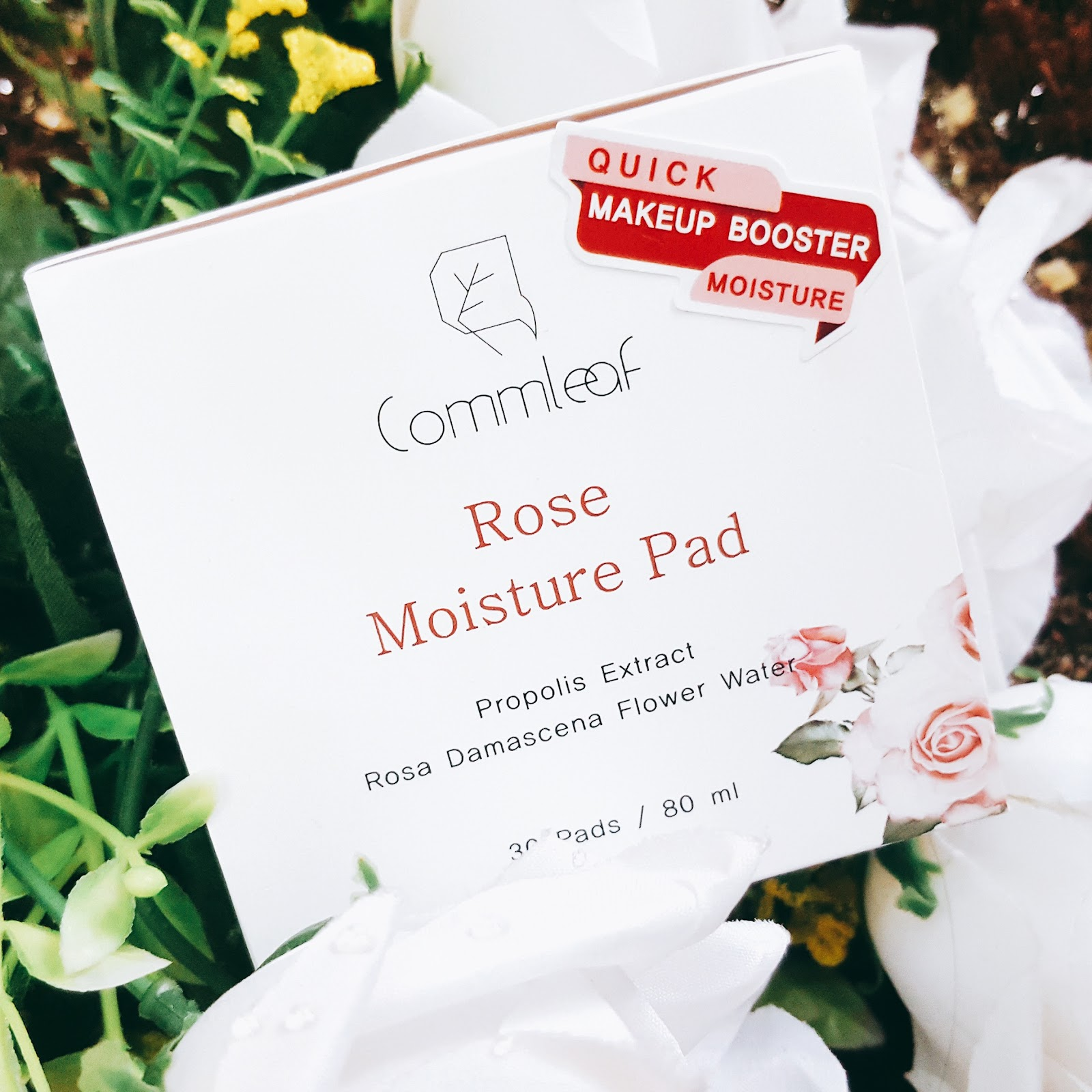 commleaf rose moisture pads
