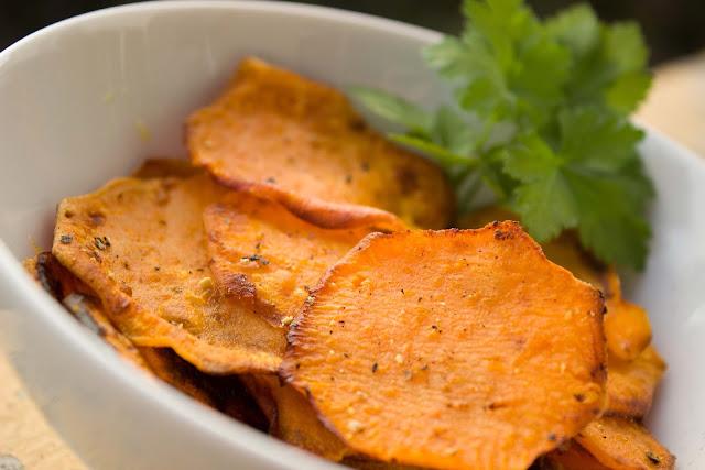 chips de inhame