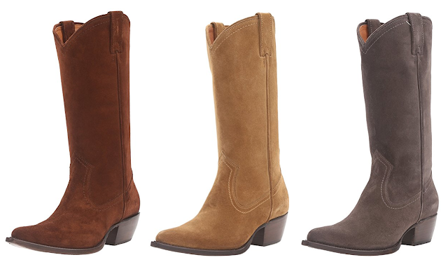 Amazon: FRYE Sacha Tall Western Boots for under $100 (reg $378) + free shipping!