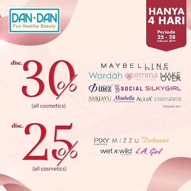 #Dan+Dan - #Promo BEAUTY PAY DAY Dapatkan Diskon Produk Kecantikan s.d 30% (s.d 28 Feb 2019)